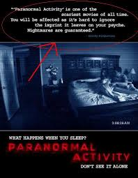 Paranormal Activity  film complet
