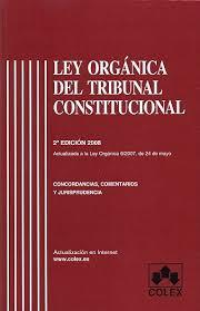 Edición de la Ley Orgánica del Tribunal Constitucional (LOTC)