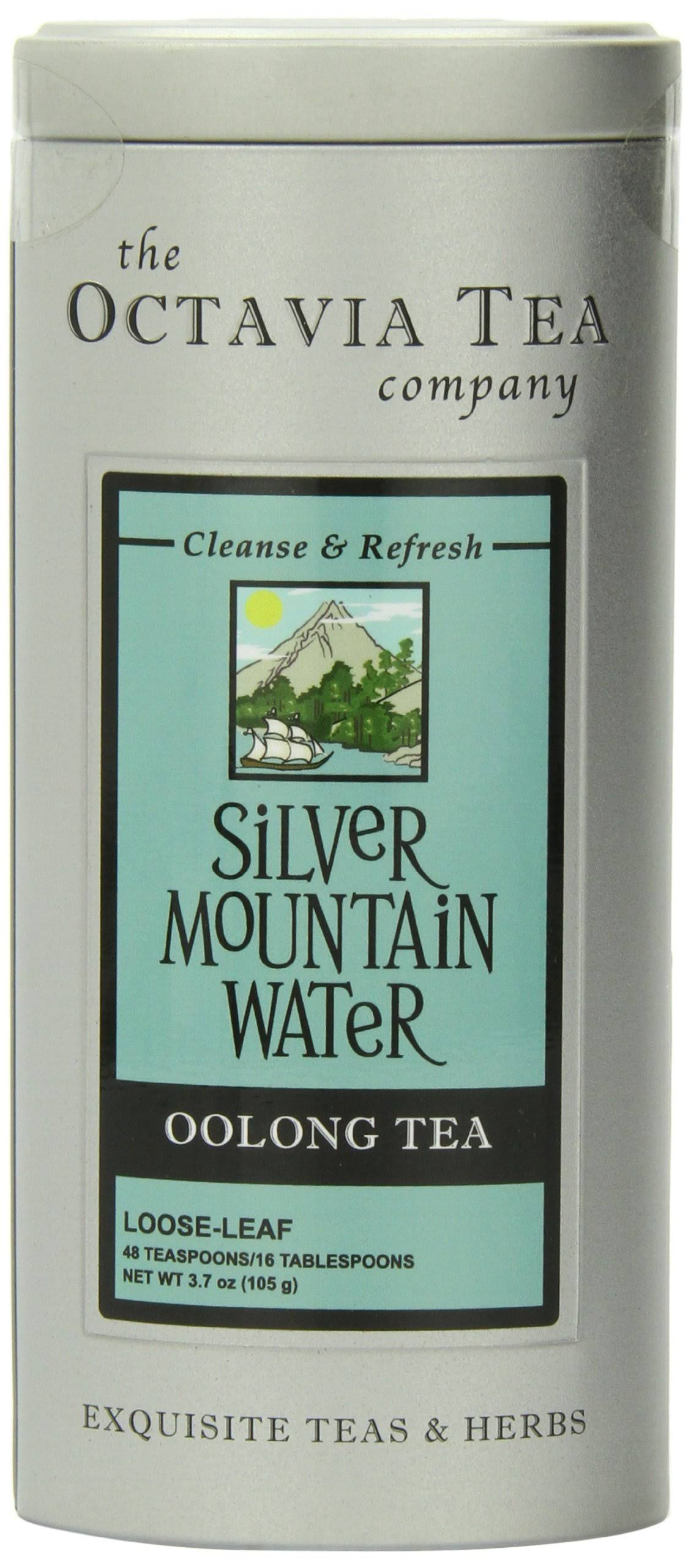 Octavia Tea Loose Tea - Silver Mountain Water, 2.78oz