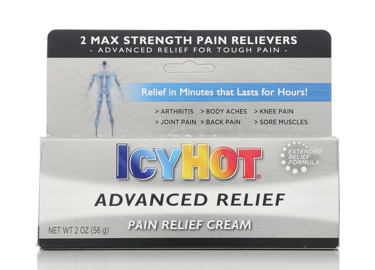 Icy Hot Advanced Pain Relief Cream - 2oz