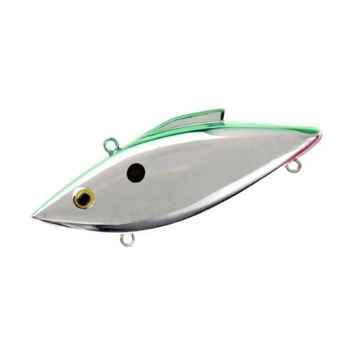 Rat-L-Trap Mag-Trap Crankbait Chrome Green Back