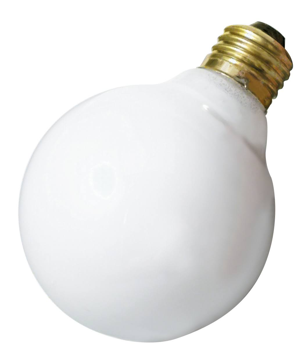 Satco S3441 Decorative Incandescent Globe Light - White, 40w