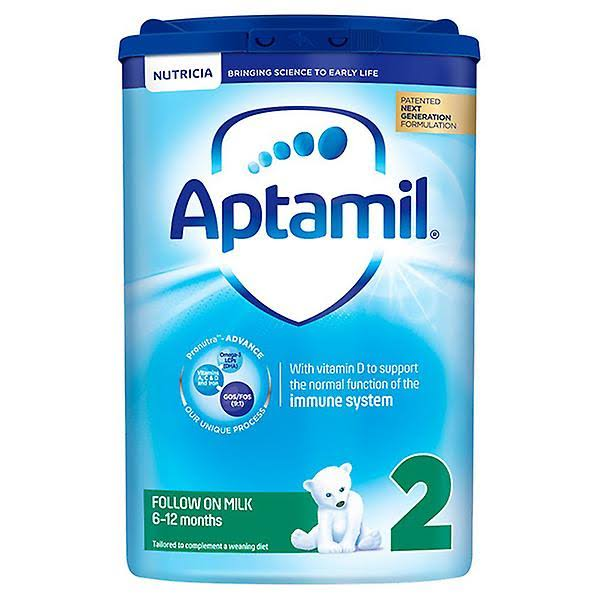 Aptamil Hungry Baby Milk Formula - From Birth, 800g