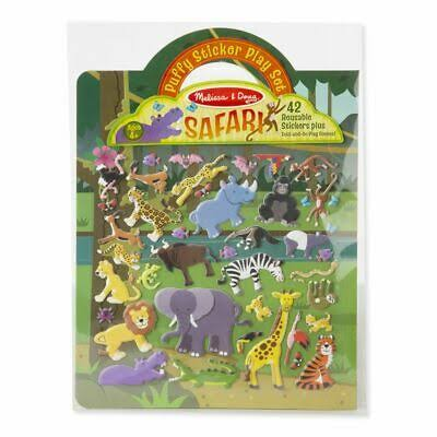 Melissa & Doug 19106 Puffy Sticker Play Set Safari Toy