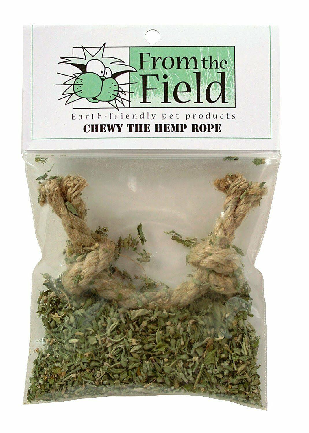 From The Field Chewy The Hemp Rope Catnip Toy