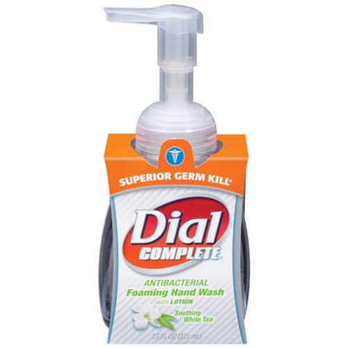 Dial Complete Soothing White Tea Foaming Anti Bacterial Hand Wash - 7.5oz