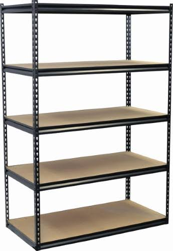 "Jaken Storage Concepts 5 Shelf Shelving Unit - 24"" x 48"" x 72"""