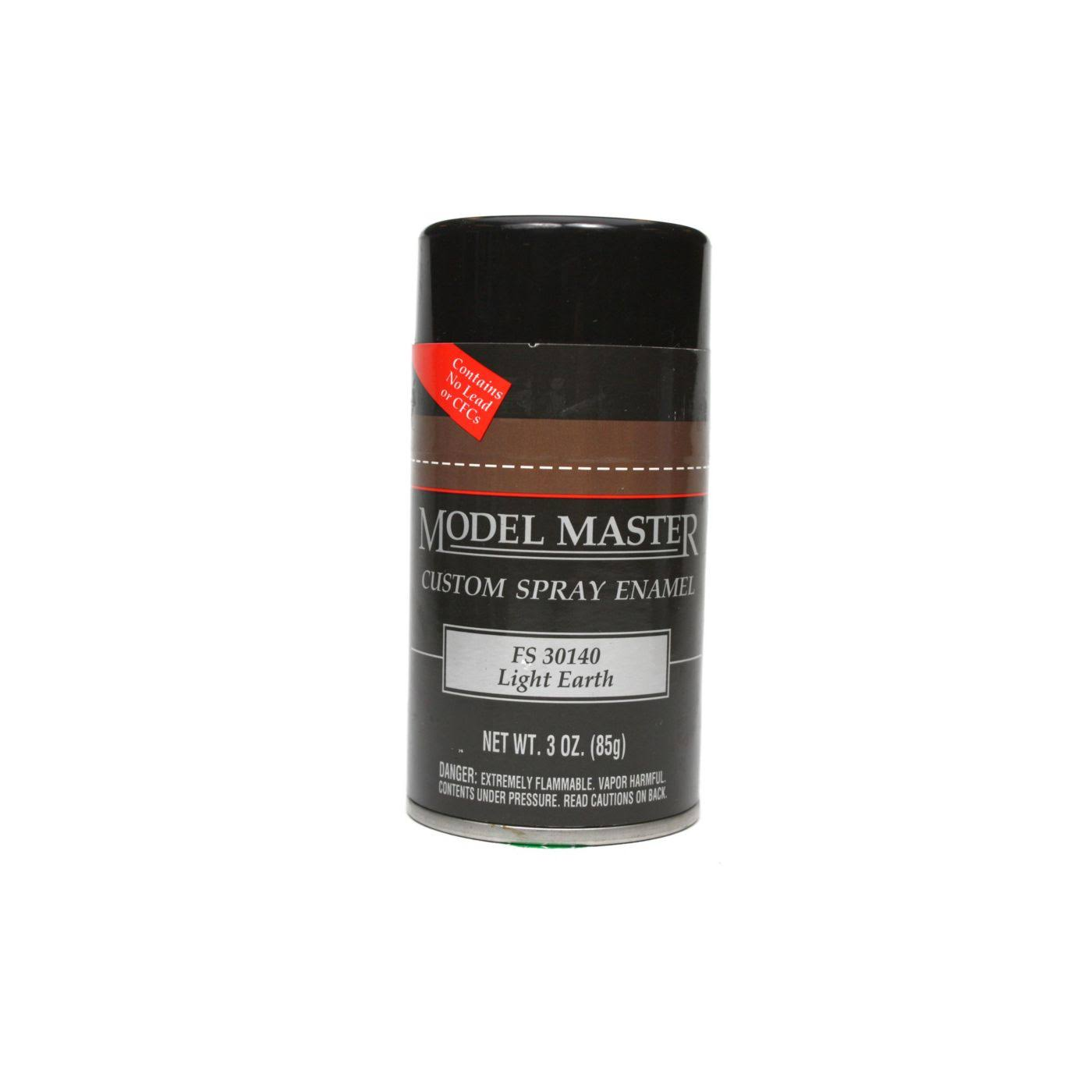 Testors Model Master Custom Spray Enamel - Light Earth, 3oz