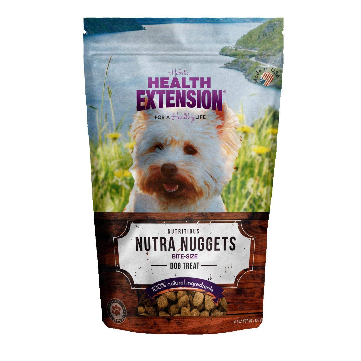 Health Extension Nutra Drop Nuggets Dog Treat - Small, 6oz