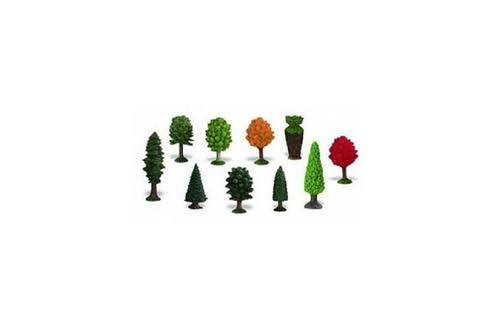 Safari Ltd Trees Toob Figure Toy - 10 Mini Figurines