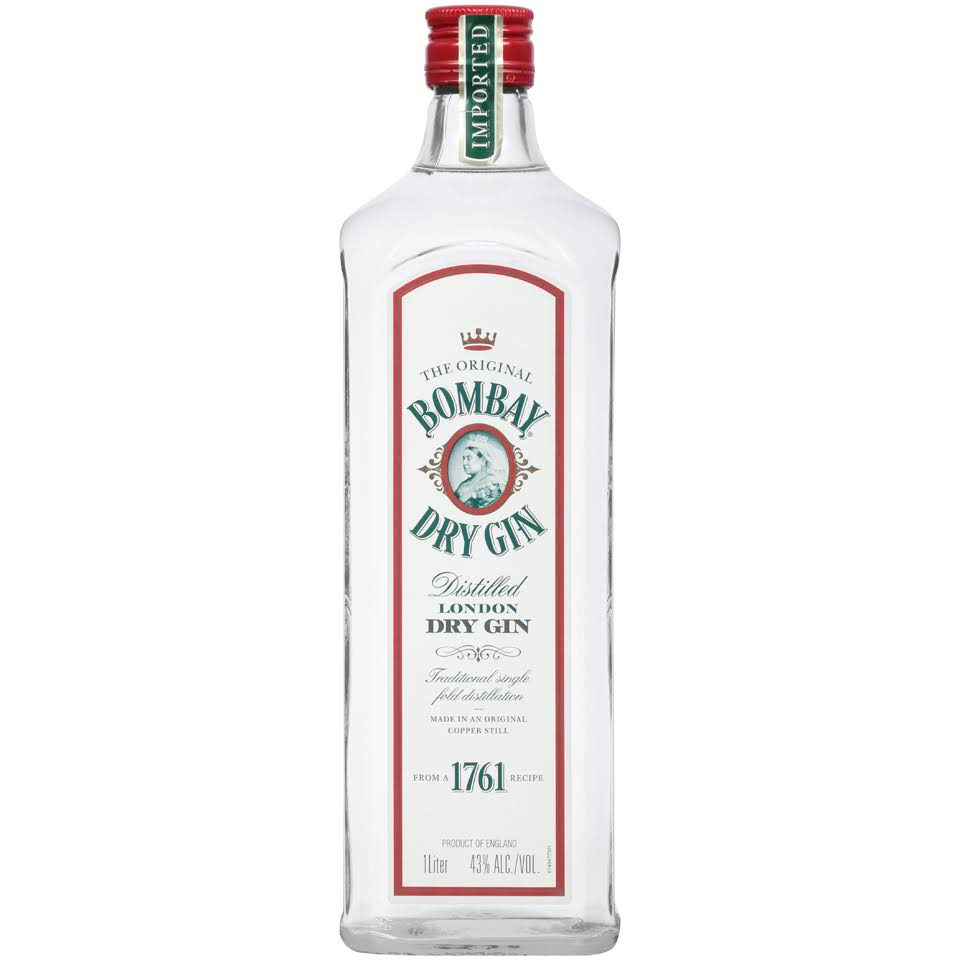 Bombay Dry Gin Distilled London Dry Gin