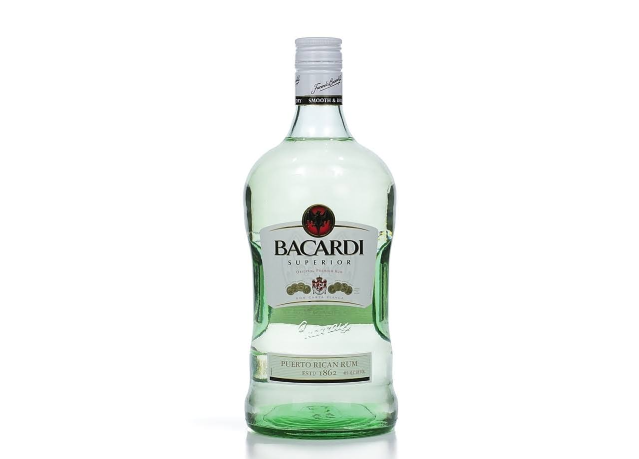Bacardi Superior Rum - 1.75 L bottle