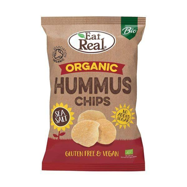Eat Real Bio Organic Hummus Chips Sea Salt - 100g