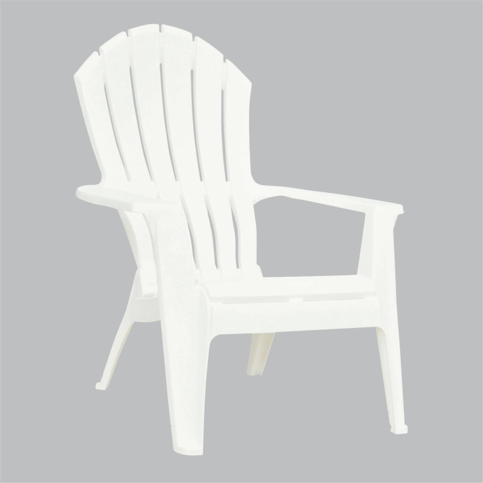 Adams Real Comfort Adirondack Chair - White
