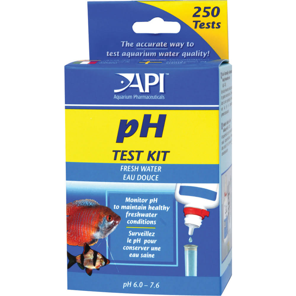 API Freshwater PH Test Kit - 250 pack