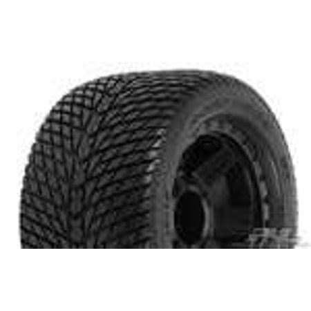Proline 117711 Road Rage Street Tires Mounted Wheels - Desperado Black , 3.8""