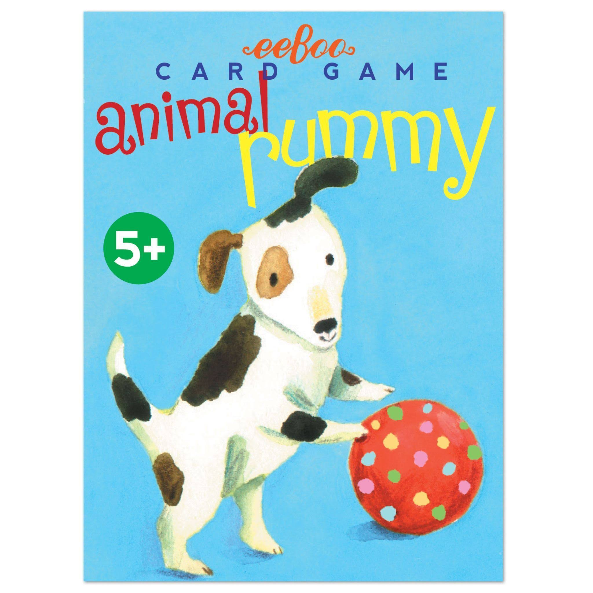 Eeboo Animal Rummy Playing Cards Game