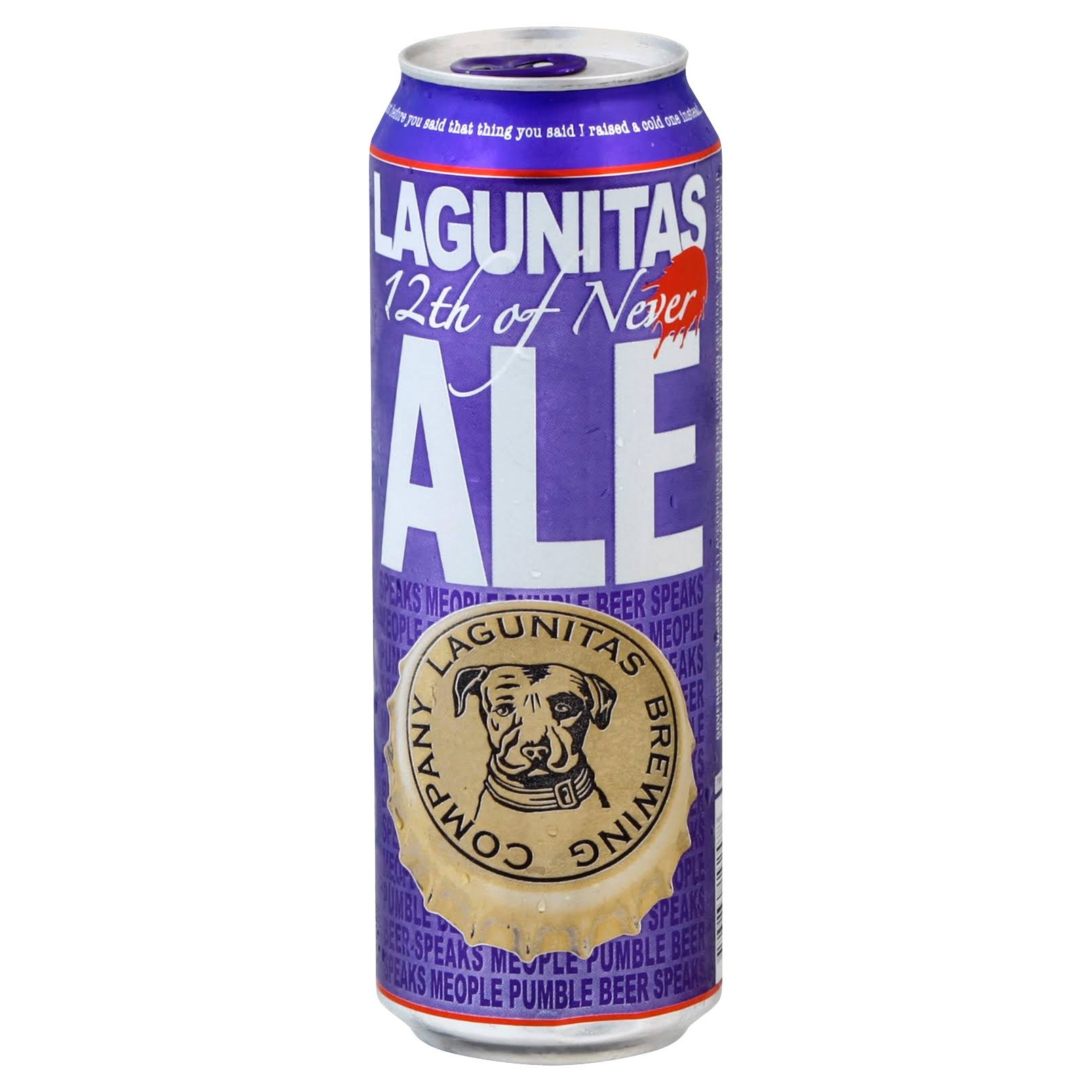 Lagunitas Beer, Ale, 12th of Never - 19.2 fl oz