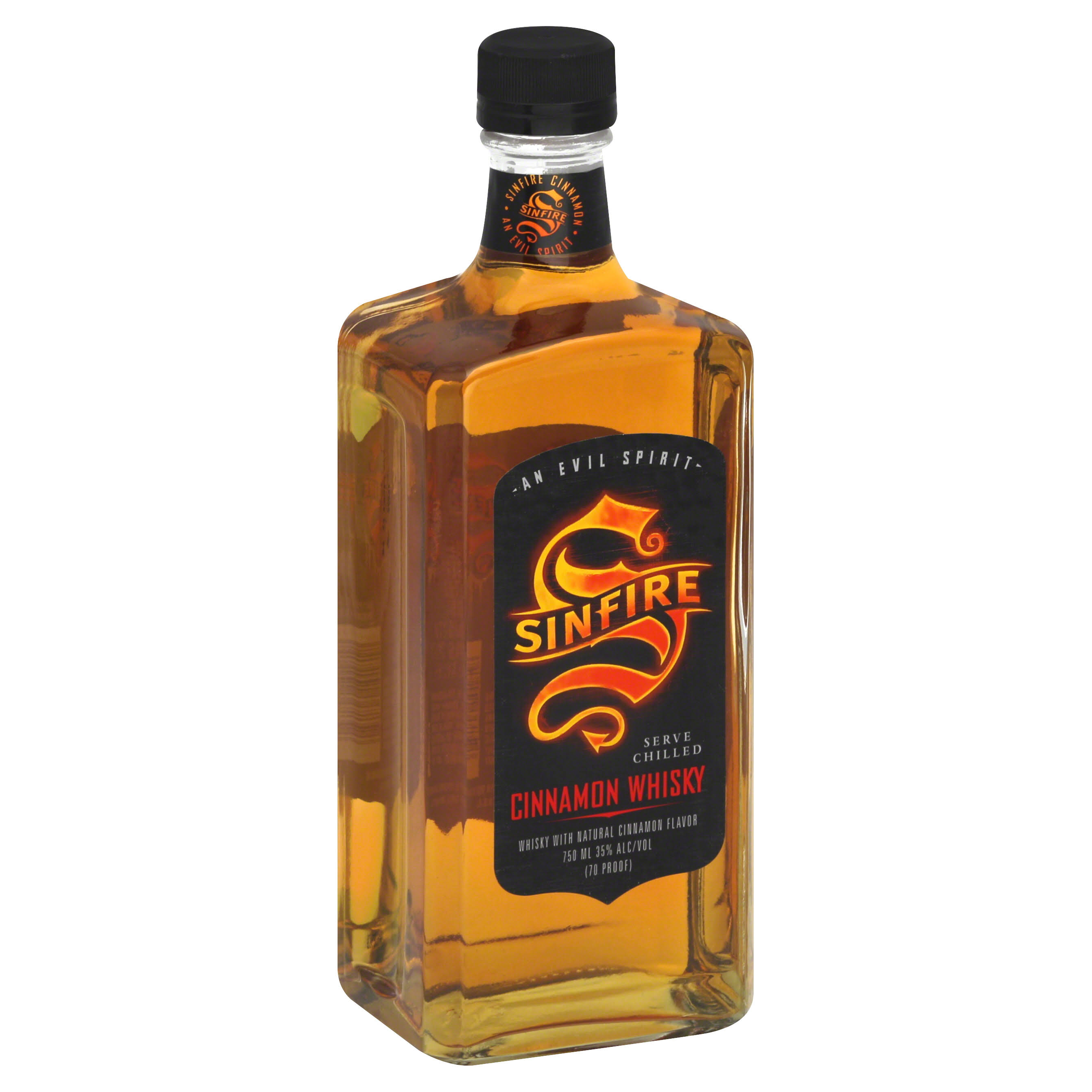 Sinfire Cinnamon Whiskey - 750ml