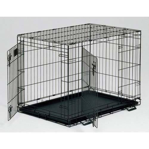 "Midwest Life Stages Folding Metal Dog Crate - 30"" x 21"" x 24"""