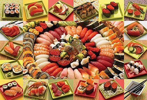 Cobble Hill Plenty of Sushi 2000 Piece Jigsaw Puzzle