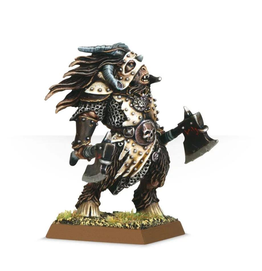 Warhammer Beastlord with Two Hand Weapons