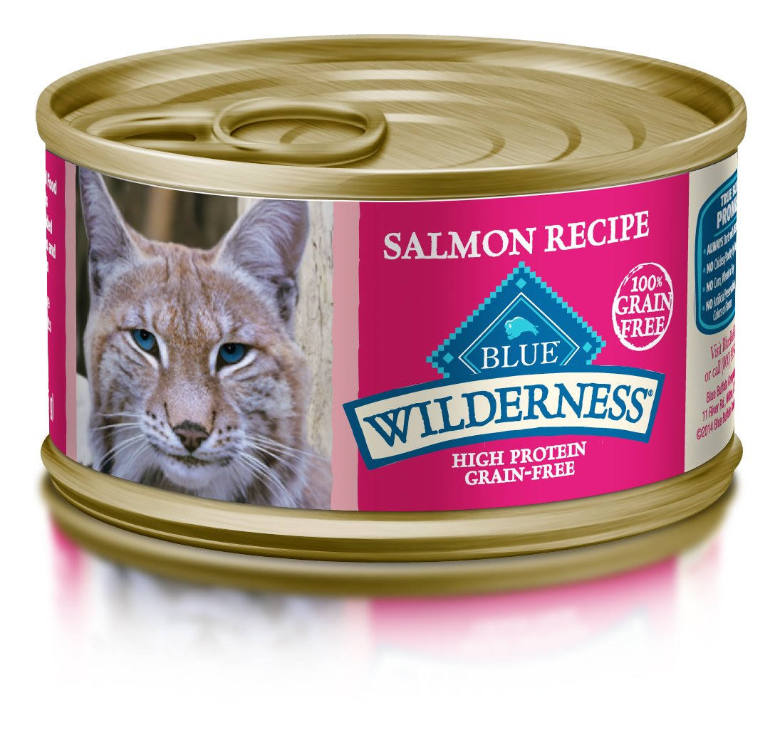 Blue Wilderness Cat Food, Salmon Recipe - 3 oz