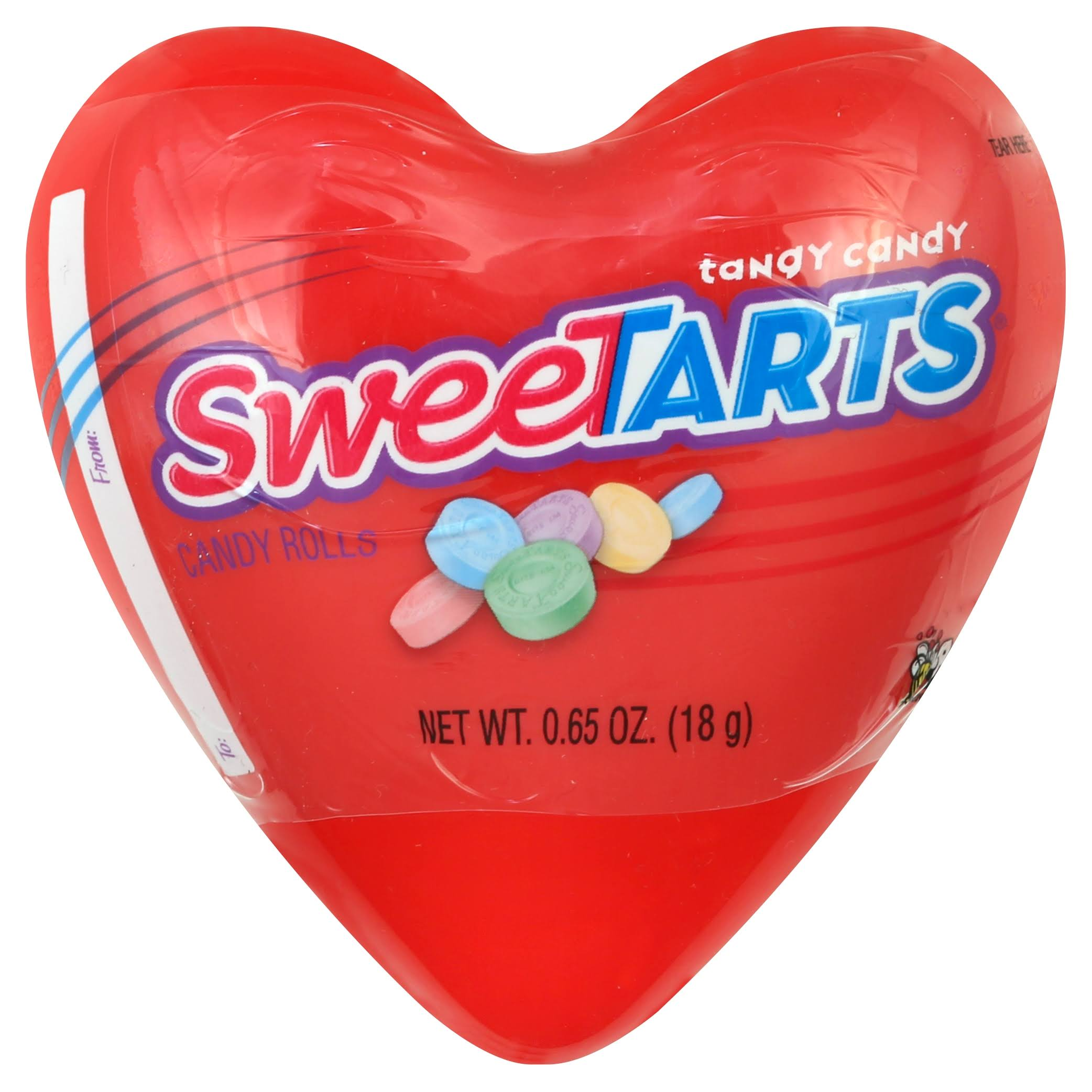 Sweetarts Candy Rolls, Tangy - 0.65 oz