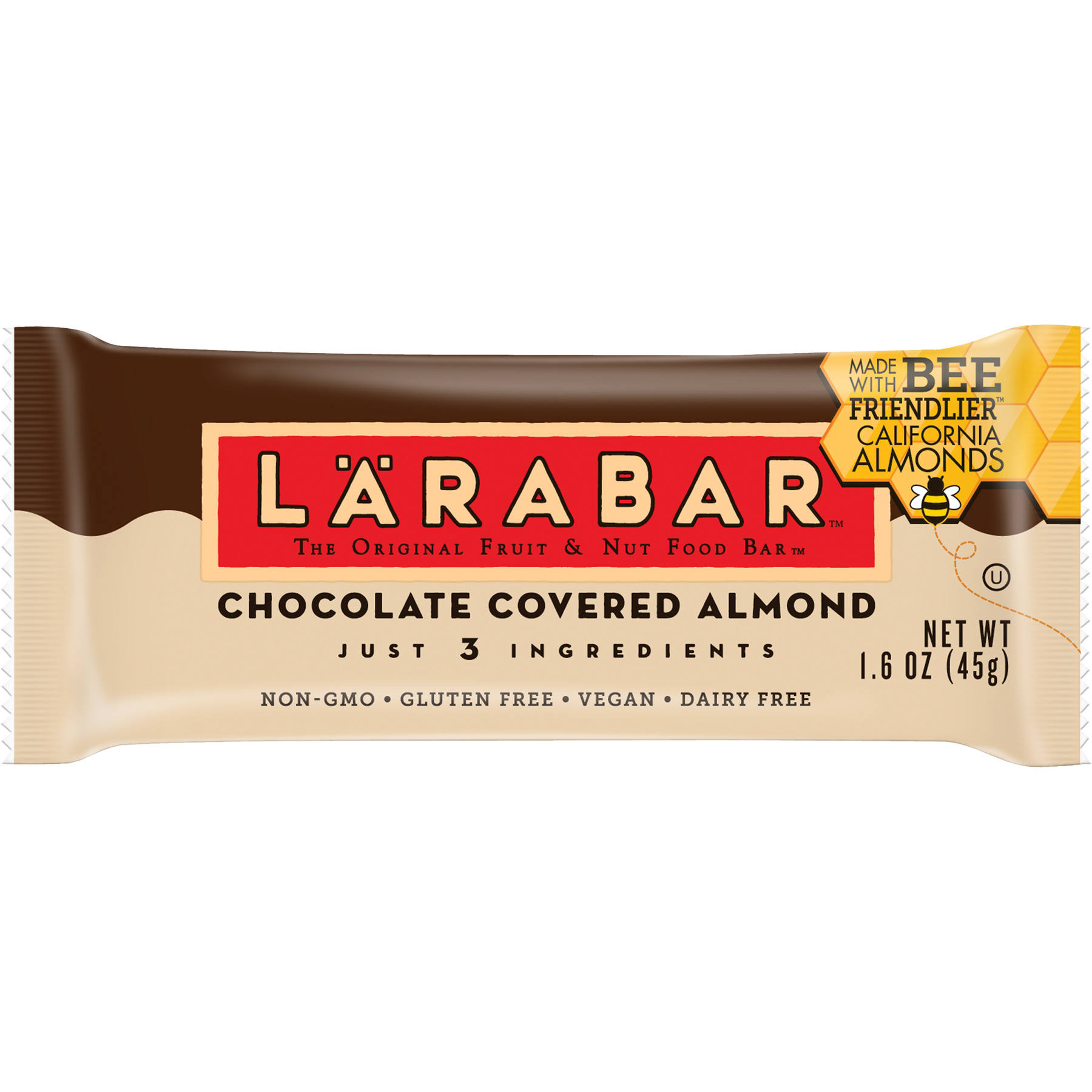 Larabar Fruit & Nut Food Bar - Chocolate Covered Almond, 1.6oz