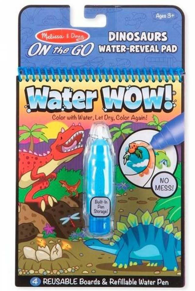 Melissa & Doug on The Go - Dinosaurs Water Wow