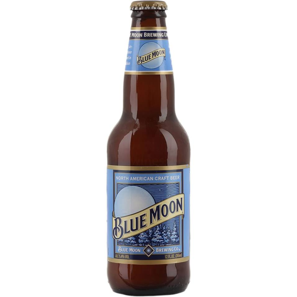 Blue Moon American Craft Wheat Beer - 330ml