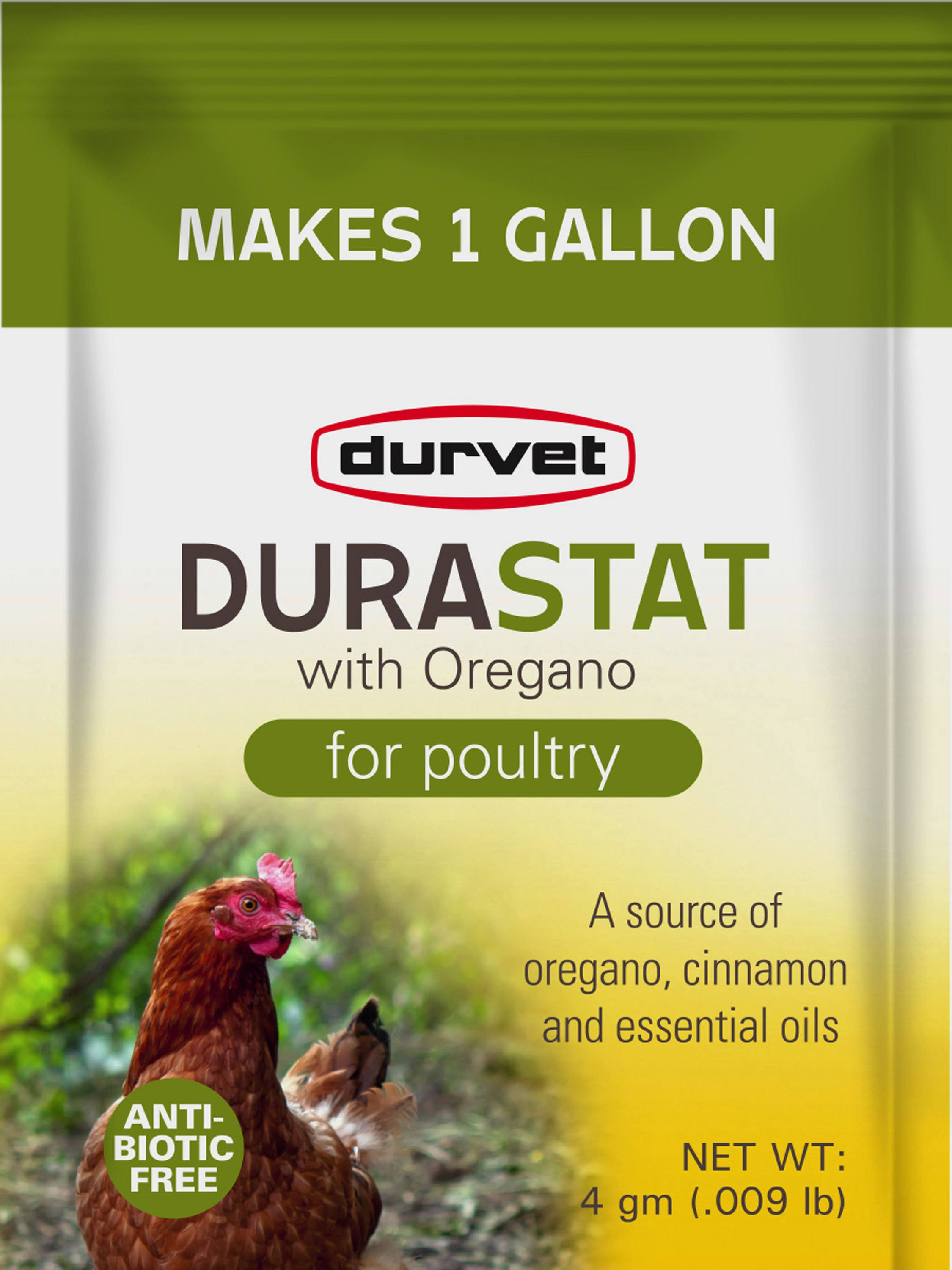 Durvet Durastat with Oregano for Poultry