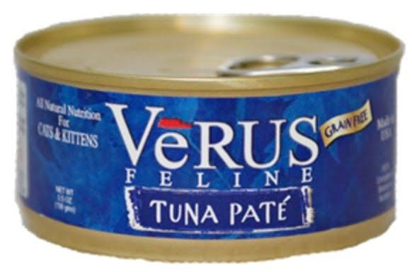 Verus Feline Grain Free Tuna Canned Cat Food - 5.5oz