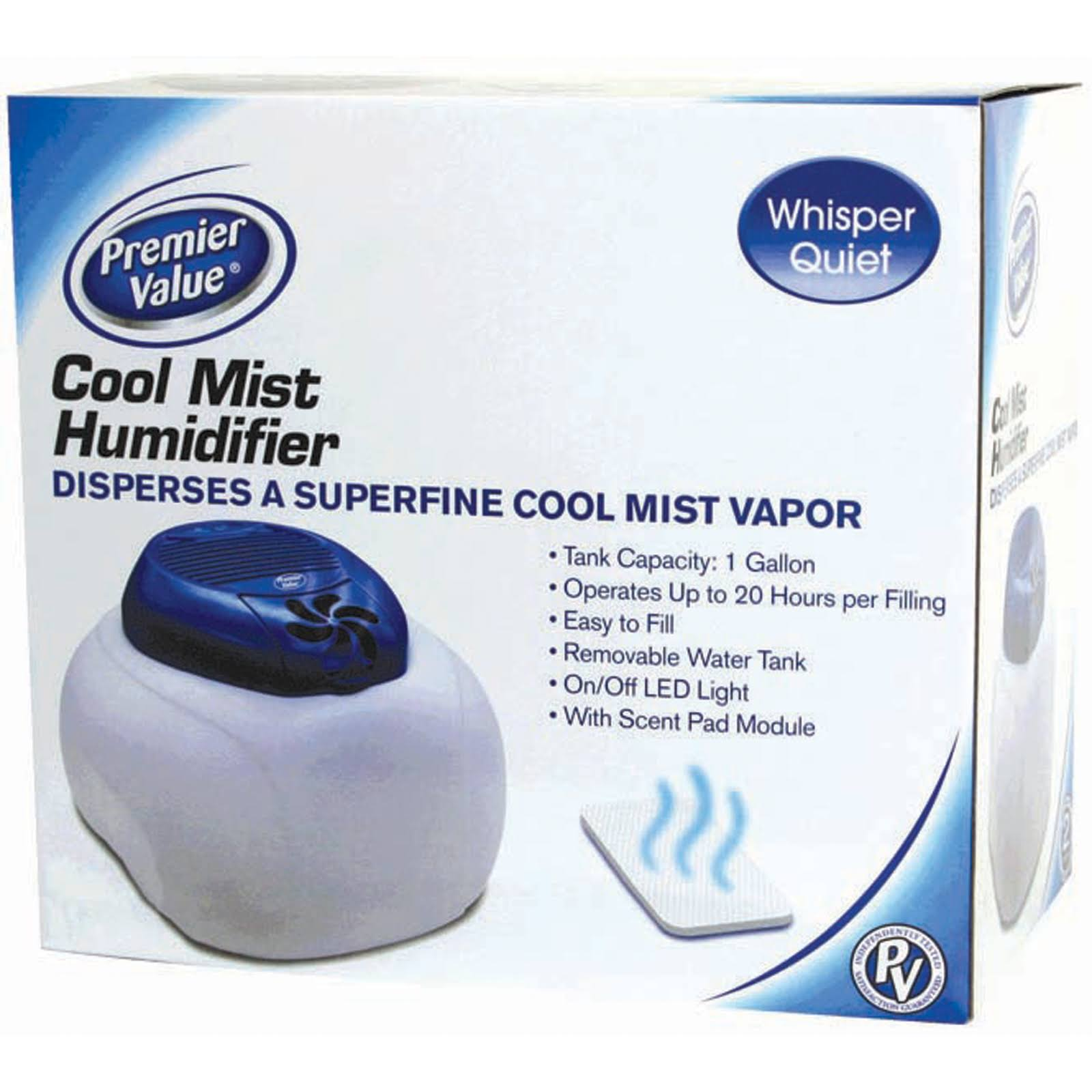 Premier Value Cool Mist Humidifier - 1 Gal