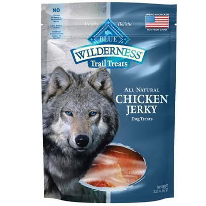 Blue Buffalo Wilderness Chicken Jerky Dog Treats - 3.25 oz