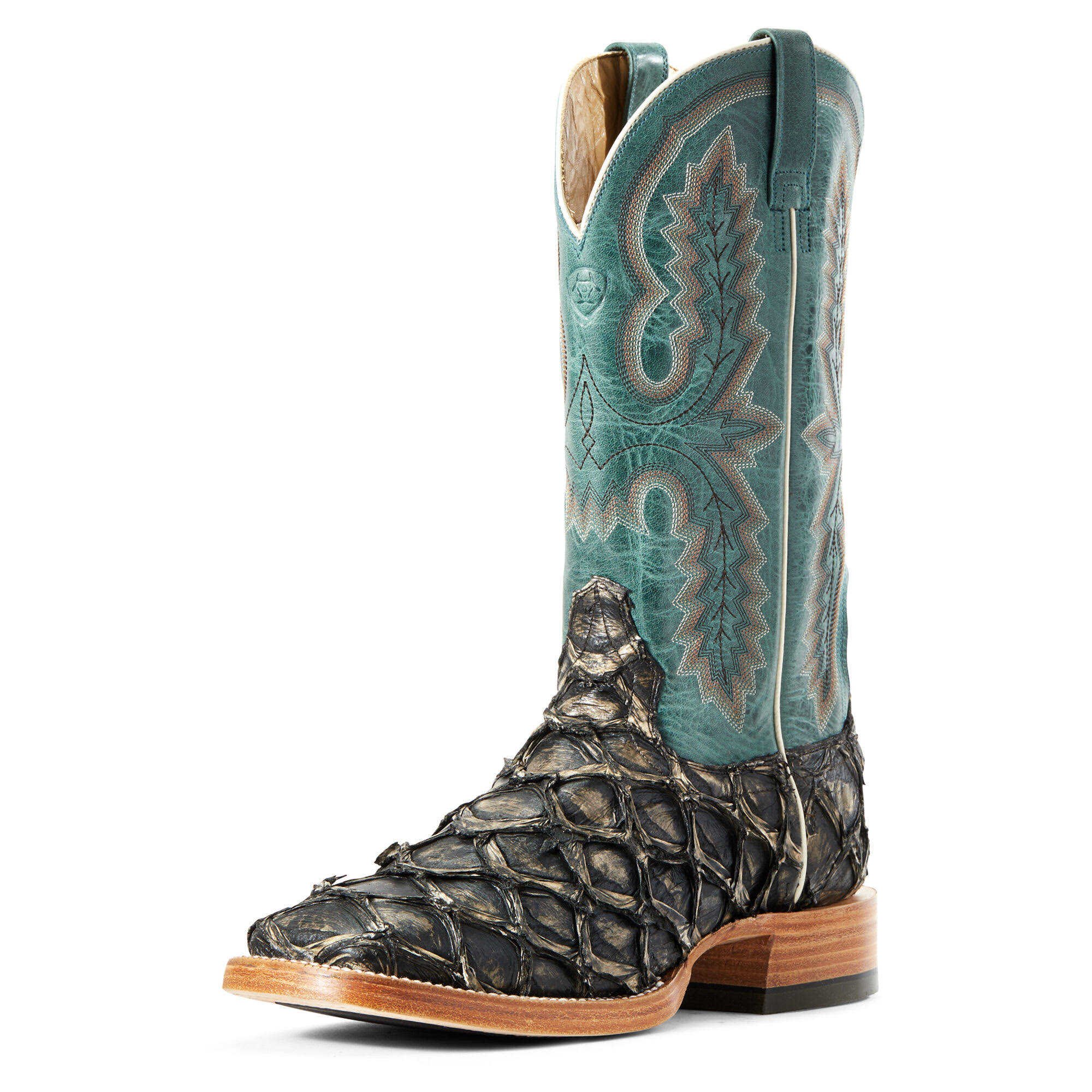 Ariat Men's Deep Water Big Bass Western Boots - Wide Square Toe