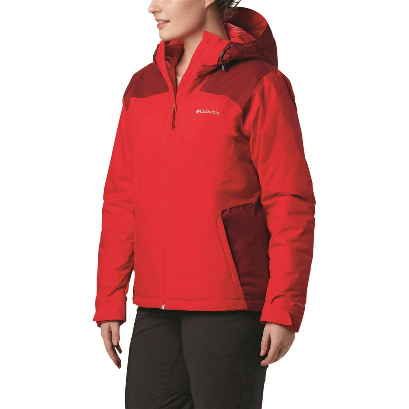 Columbia Women's Tipton Peak Insulated Jacket - Red Lily, Beet
