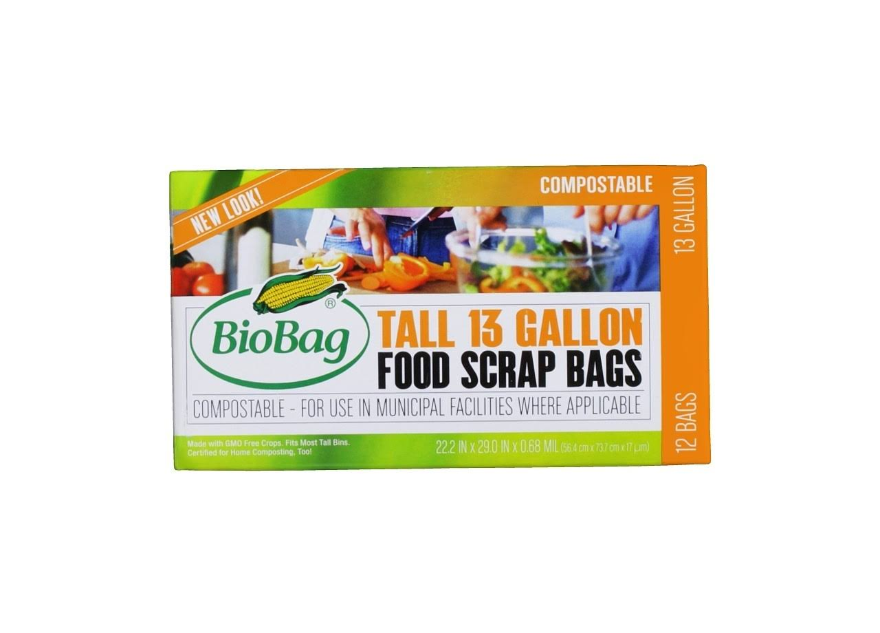 BioBag Kitchen Waste Bag - x12