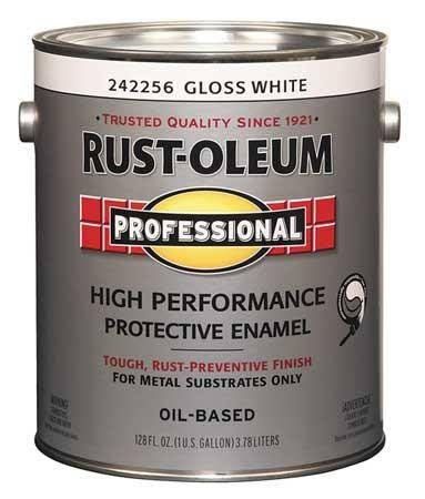 Rust-Oleum Professional High Performance Protective Enamel - Gloss White, 1gal