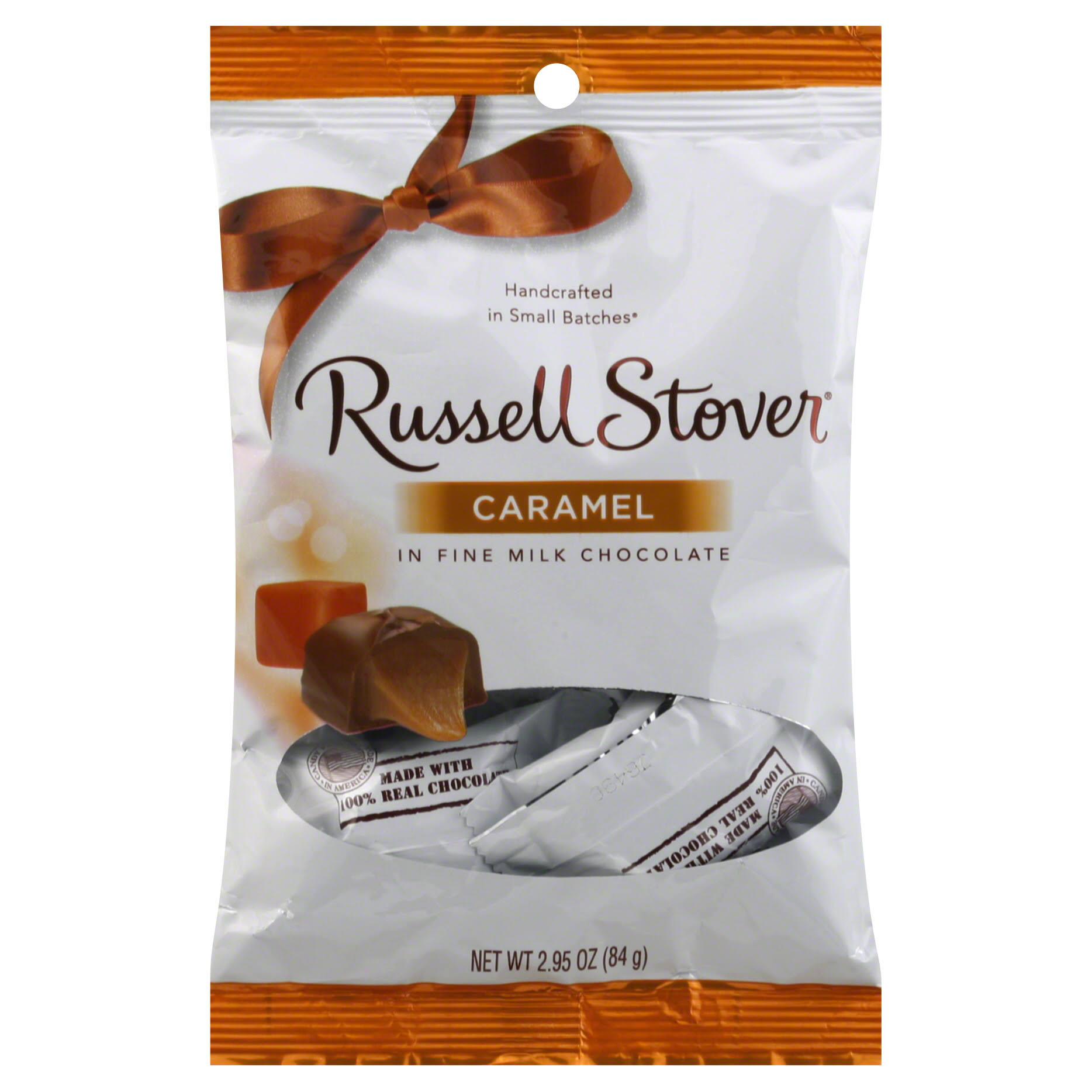 Russell Stover Caramel in Fine Milk Chocolate - 3 x 2.95oz