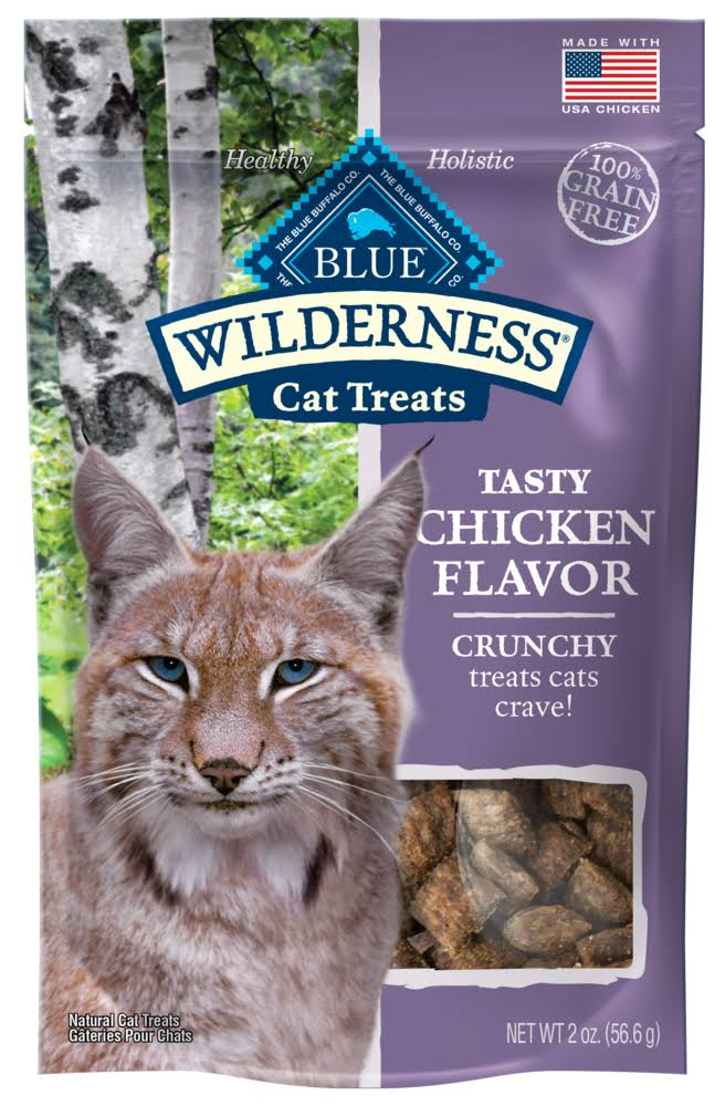Blue Wilderness Cat Treats - Chicken, 56.6g