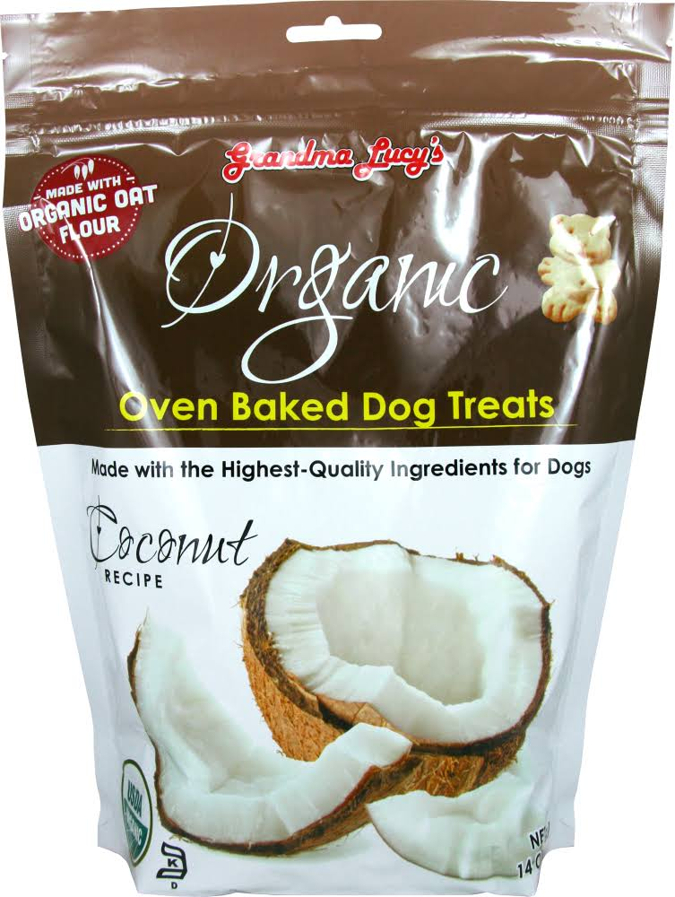 Grandma Lucy's Organic Oven Baked Dog Treats - Coconut