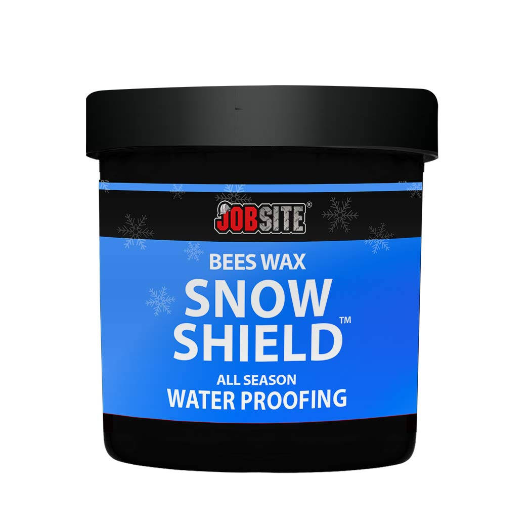 Jobsite Snow Shield Waterproof Beeswax - Original Formula, Leather Protector, 6oz