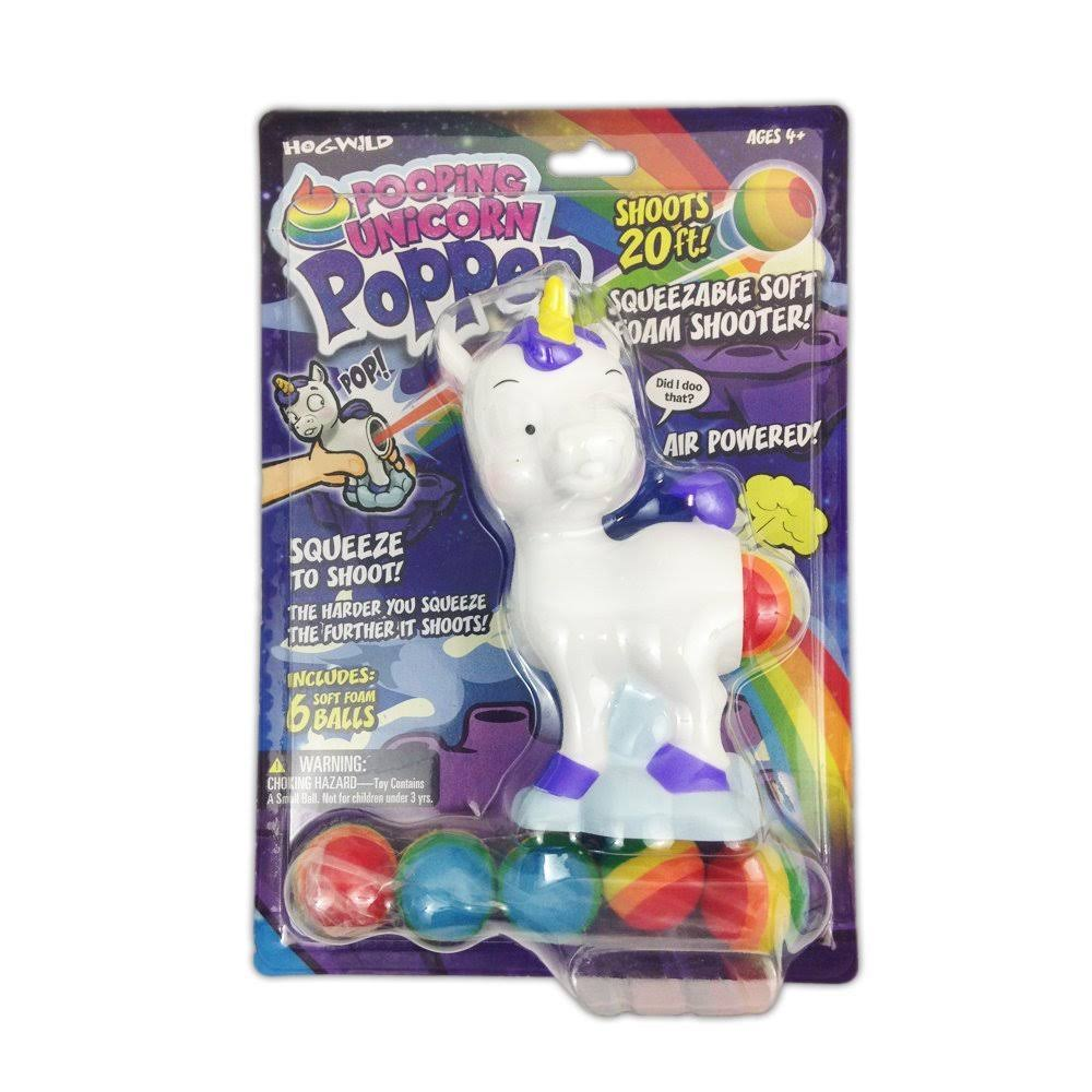 Hog Wild Pooping Unicorn Popper