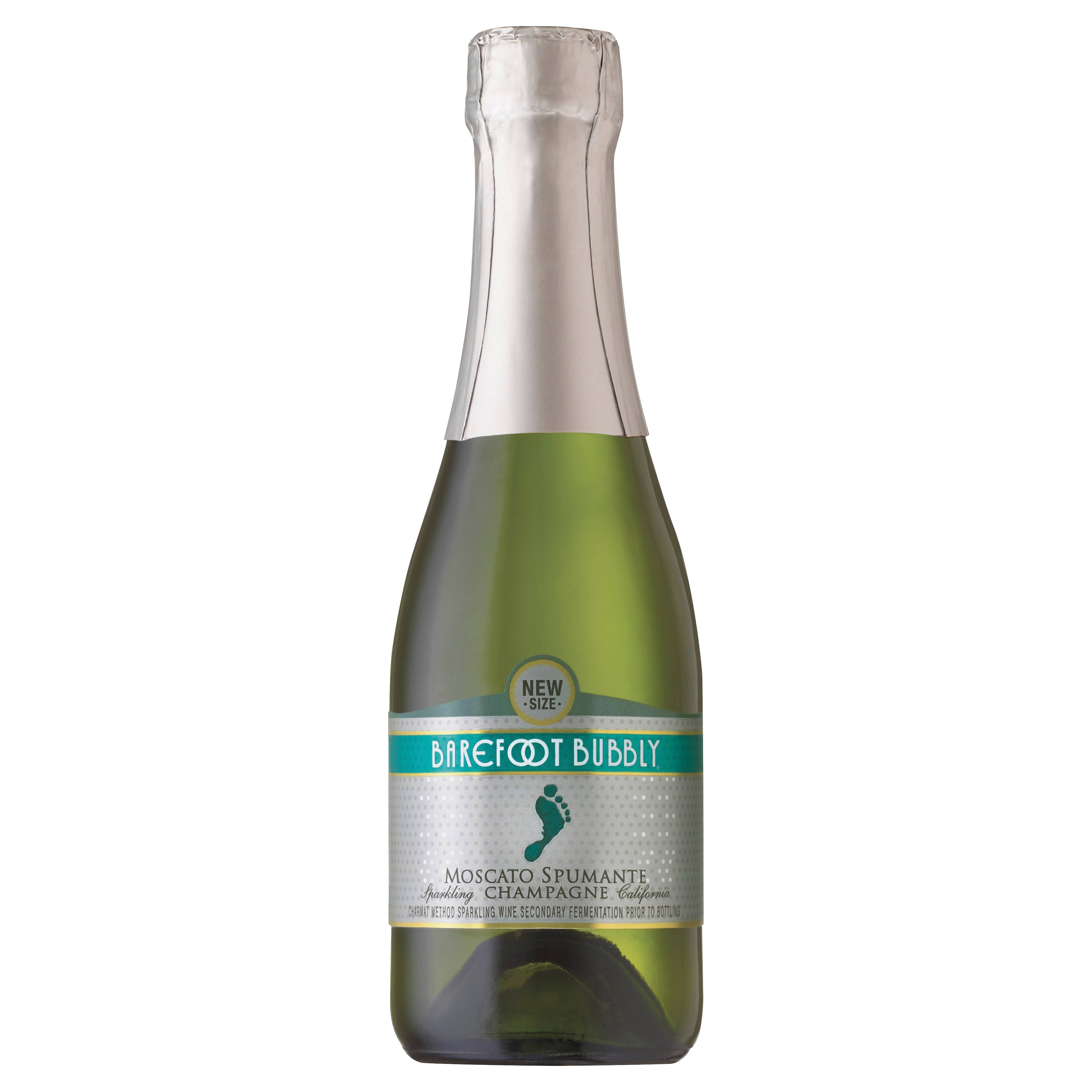 Barefoot Bubbly Sparkling Champagne, Moscato Spumante, California