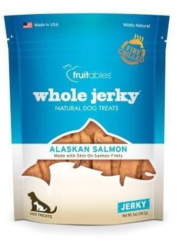 Fruitables Whole Jerky Dog Treats - Alaskan Salmon