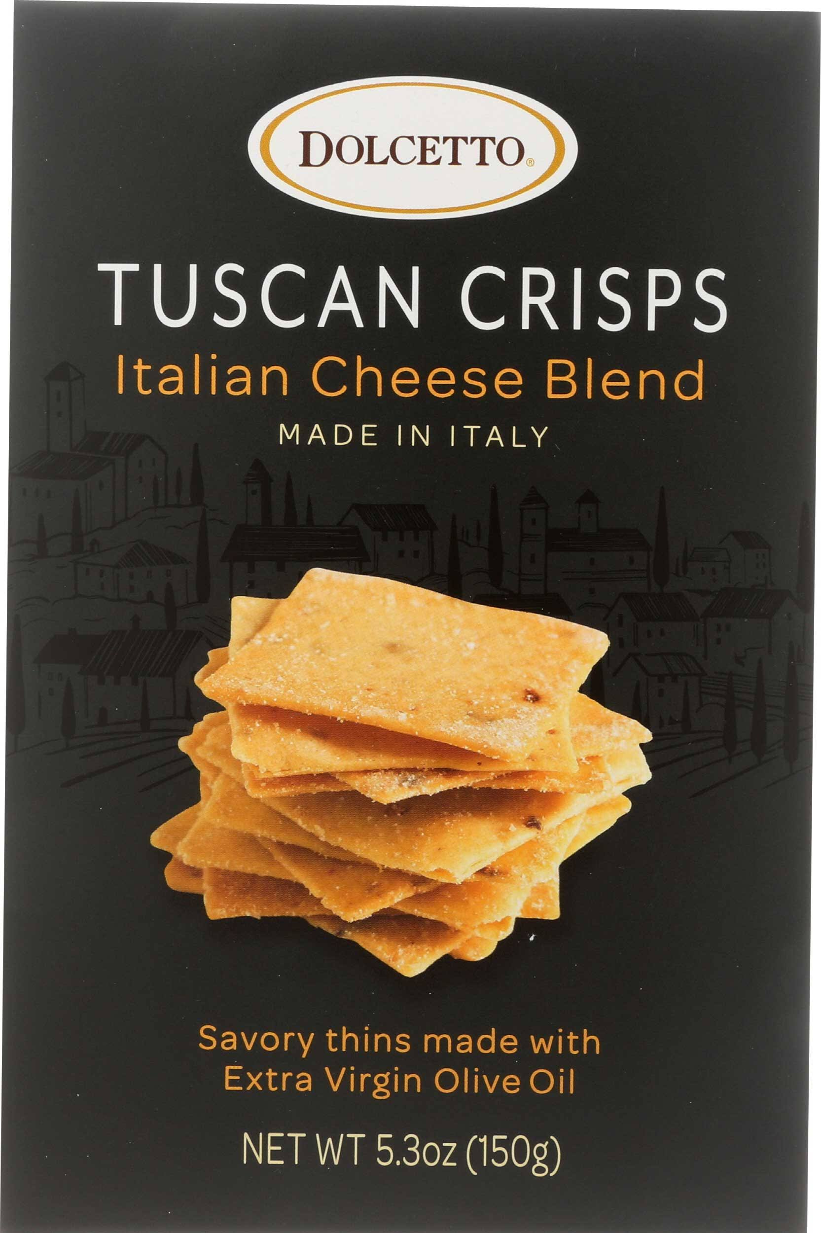 Dolcetto Tuscan Crisp - Italian Cheese, 5.3oz