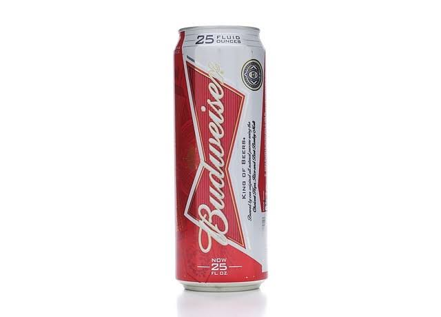 Budweiser Beer - 25oz