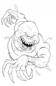 Scary Halloween Coloring Pages Online by Mommyfightingmonsters