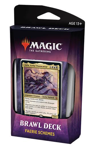 Magic The Gathering CCG: Throne of Eldraine Brawl Deck Faerie Schemes